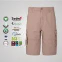 Sustainable Cotton Mens Cargo Shorts
