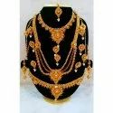 Traditional Necklace Set, Packaging Type: Box