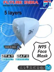 Future India Reusable 5 Layer N95 Face Mask