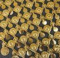 Gothic Gold Plate Coin Dance Festival Hip Chain Belt