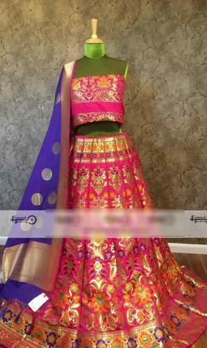 Wedding Wear Banarasi Lehenga Choli
