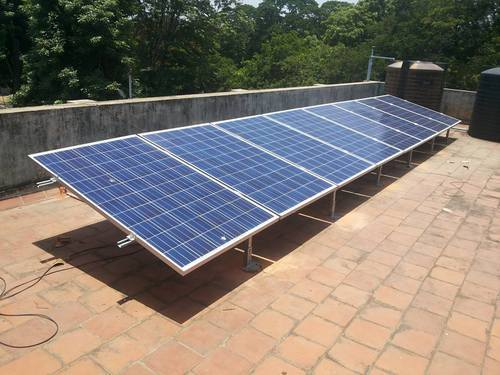 Omega Solar Off Grid Rooftop Solar Power Plant Rs 90000