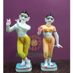 Marble Radha Krishna Iskcon Jodi Statue