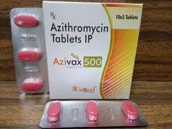 Azithromycin Dihydrate I.P. 250 mg (Blister)