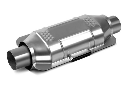 Silver Stainless Steel Auto Catalytic Converter, For Research & Industrial