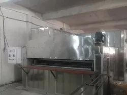 Stainless Steel Silver Swing Tray Oven, For Industrial, Capacity: 2000-3000 Kg