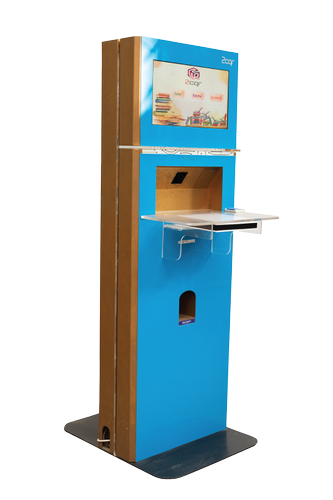Interactive Kiosk Machine