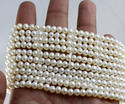 Pearl Round Shape Beads, Water Pearls Round Beads, 5 Mm Approx