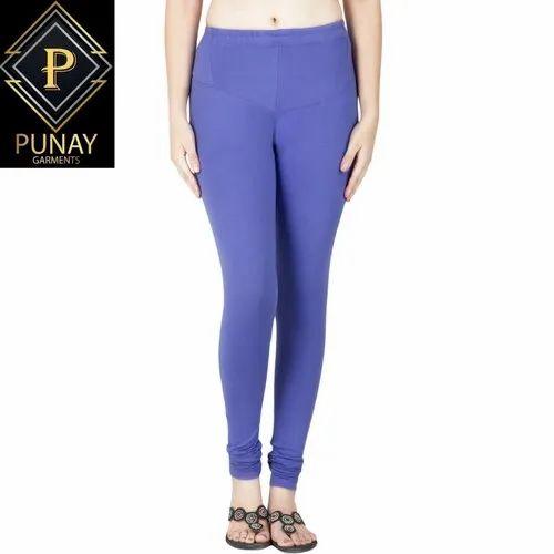 Punay V-CUt Ankel Cotton Ladies Legging