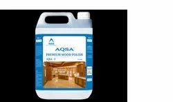 AQSA Liquid PREMIUM WOOD POLISH, Packaging Size: 5 Litres
