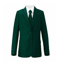 Boys Green School Blazer
