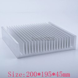 Aluminum Heat Sinks for Power Industry