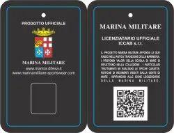 Marina Militare Front and Back Tag