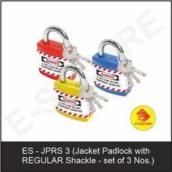 Lockout Jacket Padlock With Regular Shackle