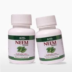 Weight Gainer Herbal Neem Capsule, Grade Standard: Medicine Grade, Non prescription