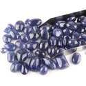 Natural AA  Clarity Tanzanite Plain Cabochons Gemstones in Wholesale Lot Assortment Jewelry Making