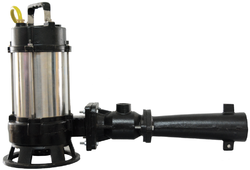 Submersible Jet Aerator for Waste Water Treatment