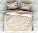 Gold Ombre 2 Pillow Set Mandala Duvet Cover