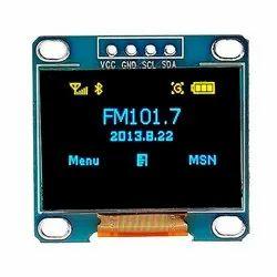 0.96 Inch 4 Pin 128x64 Blue Yellow OLED Display Module