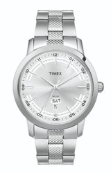 Men Round Timex Wrist Watch, for Personal Use, Model Name/Number: Tw00g916