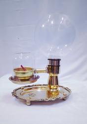 Borosilicate Glass 500 mL Akhand Diva for Pooja