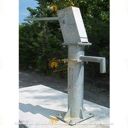 IndiaMark Galvanised/ SS. UPVC India Mark III Deep Well Hand Pump
