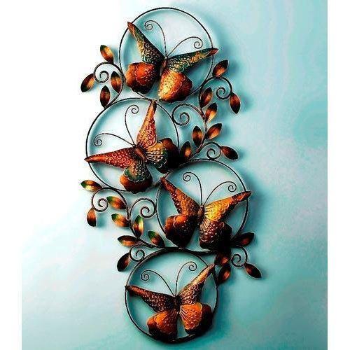 Butterfly Circles Iron Handicraft Home Decor