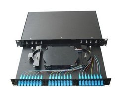 Fiber Patch Panel (fully loaded )