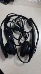Wired Black Call center Headsets, Weight: 100 Gm, Model Name/Number: Etios