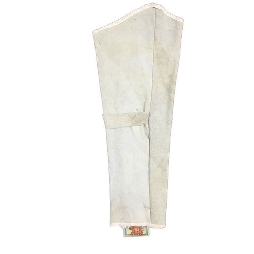 6d1cbc7aa1 White Leather Arm Sleeves, Rs 83 /piece, Vigneswara Industries | ID ...