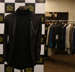 Texture Polywhool Mens Casual Suits