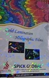 Transparent Holo Polyester Film Holographics, Packaging Type: Export, Size: A4 Sheets And Rolls