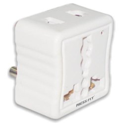 Press Fit Charm 3 Pin Conversion Multi Plug