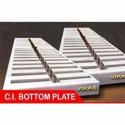 Vikas Cast Iron Bottom Plate, For Mild Steel Melting