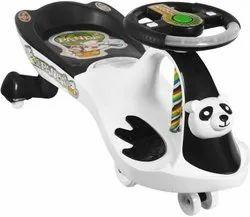 Black&white Panda Swing Car, For Personal, Vehicle Model: Panda-dlx