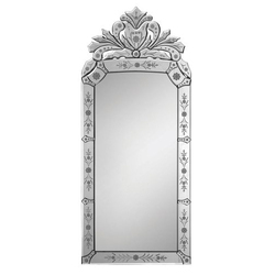 Rectangular Wall Venetian Mirror
