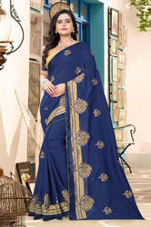 Designer Heavy Vichitra Georgette Saree
