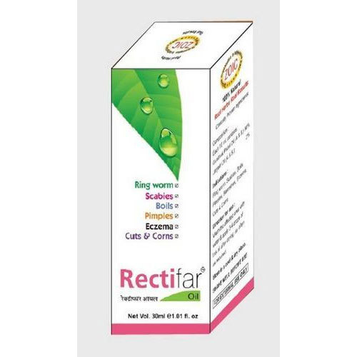 Gel Herbal Anti-Fungal Eczema Oil, For Personal, Packaging Type: Box