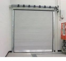 Iron Half Height Automatic Rolling Shutters