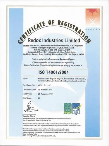 Redox Industries Limited - Exporter from Makarba, Ahmedabad