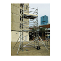 Mobile Scaffold Tower With Ladder Frame