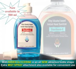 Ethyl Alcohol Based Hand Sanitizer 100 ML