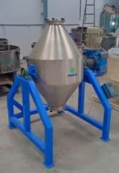 Ms/ Ss Semi Automatic Double Cone Blender, Capacity: 50 Kg To 1000 Kg