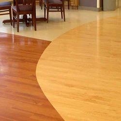 PVC Flooring Service, Minimum Area: 100 Sq Ft