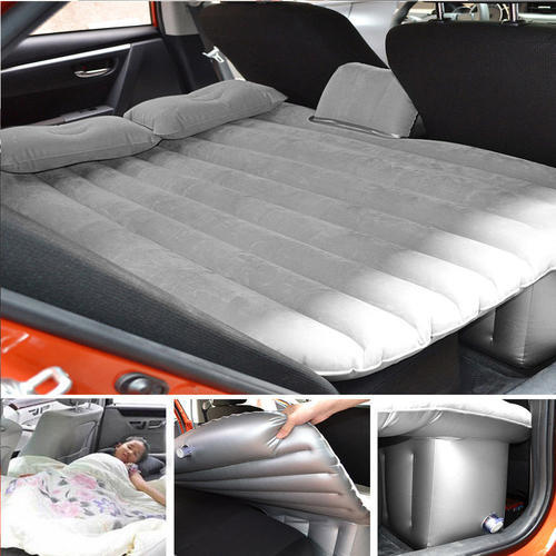 Kawachi PVC Air Inflatable Car Travel Sofa Bed With Pillows