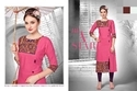 Rayon 3/4th Sleeve Kurti, Size: M, L, XL & XXL