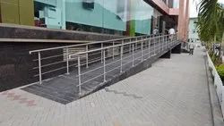 Bar Stairs Ramp Railing, For Office