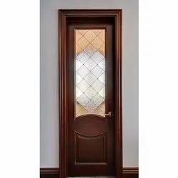 Wooden Door Glass, Thickness: 10-15 Mm