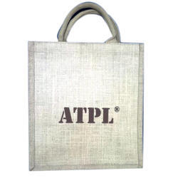 White And Brown Jute Bags