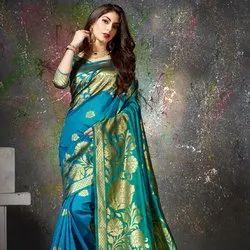 Designer Heavy Silk Jacquard Saree